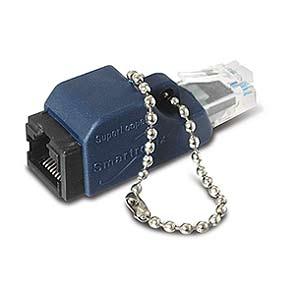 Superlooper  Ethernet Loopback Jack and Plug