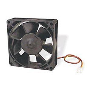 80x25mm Case Fan  Dual Bb 3pin Mb-Rpm