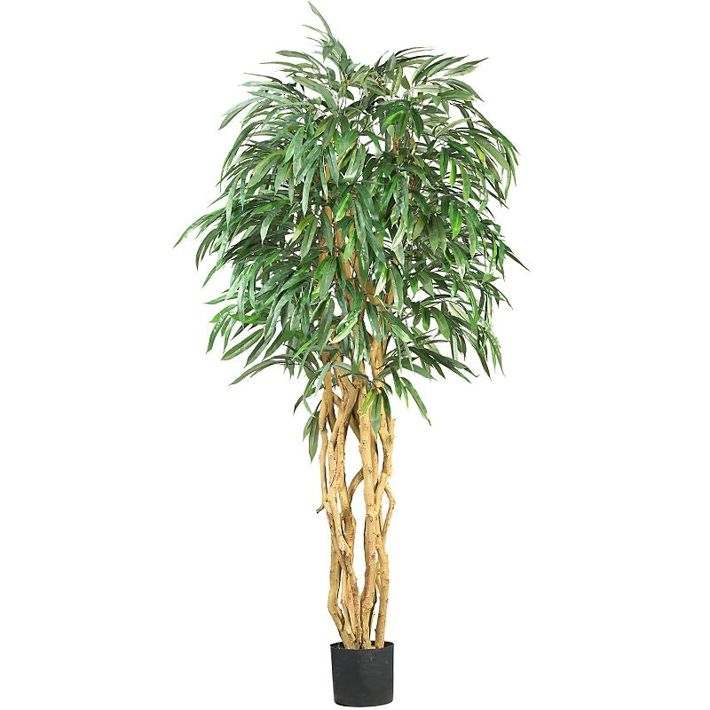 Nearly Natural 5213 6  Weeping Ficus Silk Tree- Green NN078