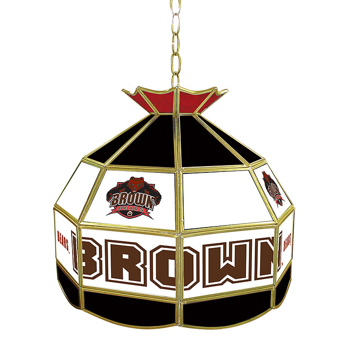 Brown University Stained Glass Tiffany Lamp - 16 Inch