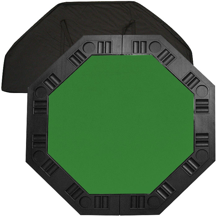 8 Player Octagonal Table top - Green - 48 inch
