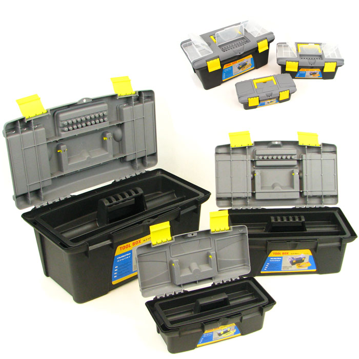 3 Piece Durable Tool Box Set - 3 for the price of one