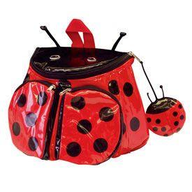 Kidorable KDR_LBUG-BACKPACK Ladybug Backpack