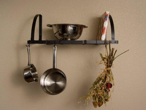 Advantage Components WMR2001 Expandable Wall Mount Pot Rack / Shelf