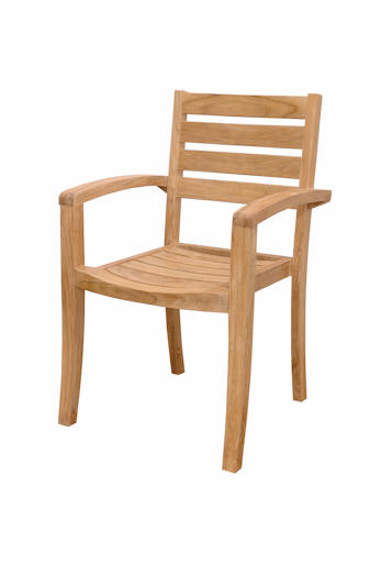 Anderson Teak CHS-033 Catalina Stackable Armchair