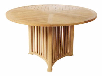 Anderson Teak TB-062 Mission 51 Inch Round Table at Sears.com