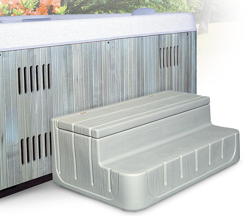 Step  n Stow 6130320 Concept 1 Spa Steps - Coastal Gray