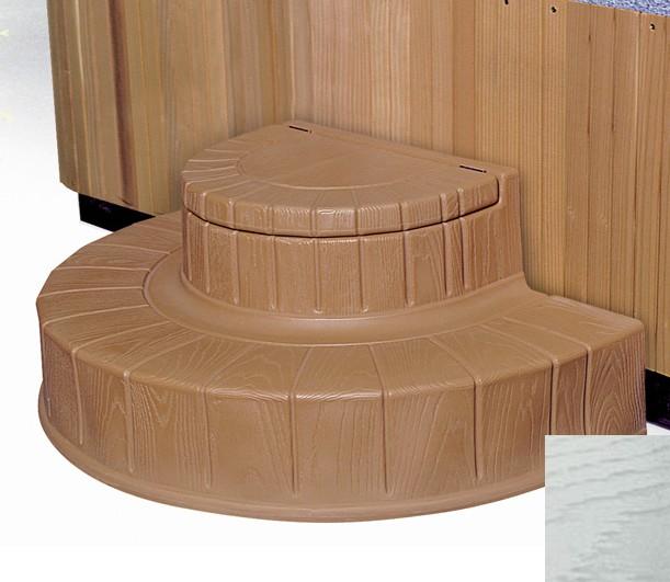 Step  n Stow 6130325 Concept 2 Spa Steps - Coastal Gray