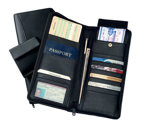 Royce Leather 332-BLACK-10 International Expanded Document Case - Black