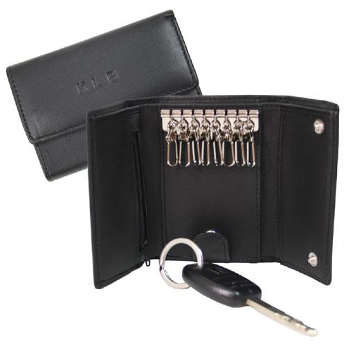 Key Case Wallet - Black
