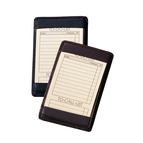 Royce Leather 705-BLACK-5 Traditional Note Jotter - Black