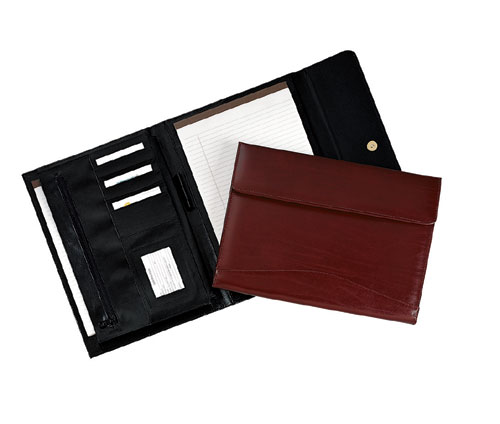 Royce Leather 751-BLACK-9 Padholder / Organizer - Black