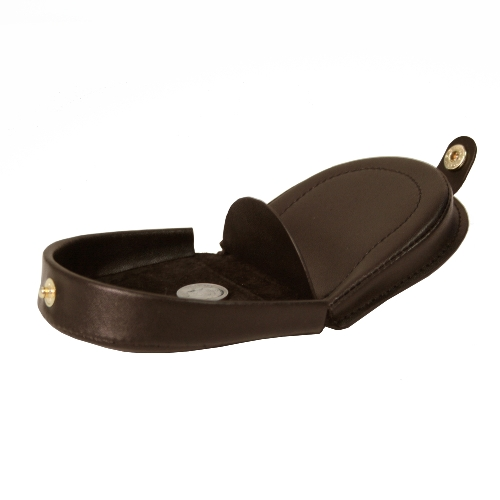 Royce Leather 857-BROWN-6 Tray Coin Holder - Brown