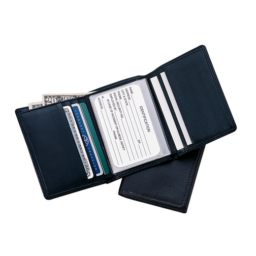 Royce Leather 103-COCO-5 Men s Tri-Fold Wallet - Coco
