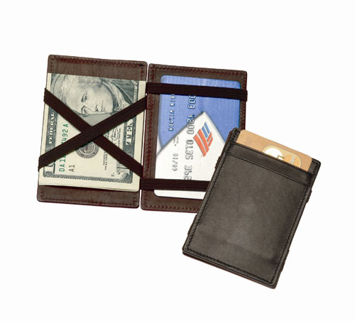 Royce Leather 117-COCO-5 The Magic Wallet - Coco