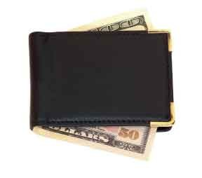 Royce Leather 811-COCO-5 Large Magnetic Money Clip - Coco