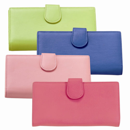 Royce Leather 156-KLG-5 Women s Credit Card Clutch - Key Lime Green at Sears.com
