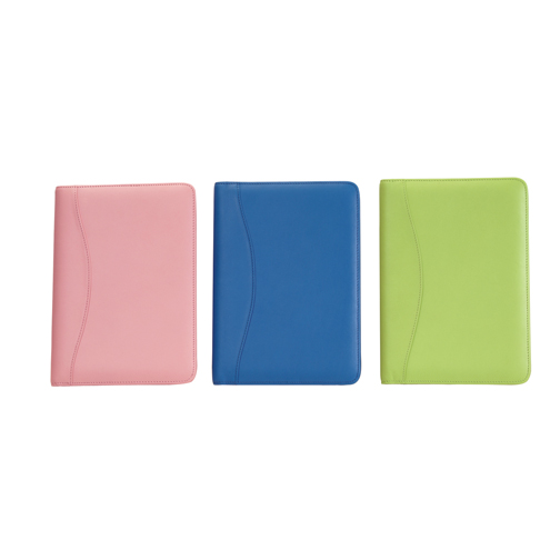 Royce Leather 743-KLG-5 Jr. Writing Padfolio - Key Lime Green
