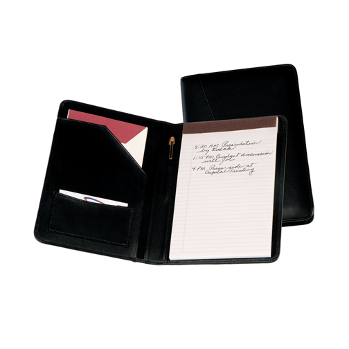 Royce Leather 743-TAN-5 Jr. Writing Padfolio - Tan