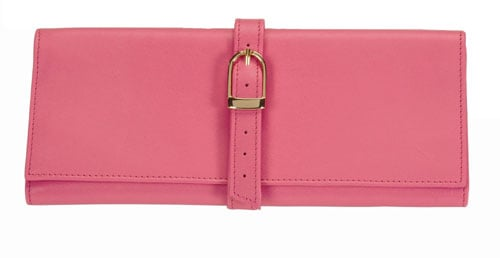 Royce Leather 915-WB-5 Jewelry Roll - Wildberry