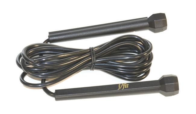 J Fit 20-2723 Speed Jump Rope - Black