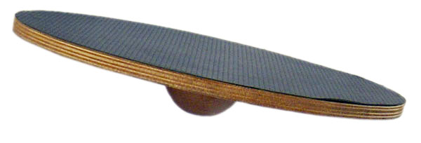 J Fit 10-1500 Round Balance Board - Wood