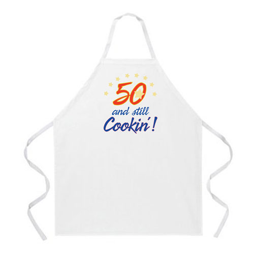 L.A. Imprints 2004 50 & Still Cookin Cooking Apron at Sears.com