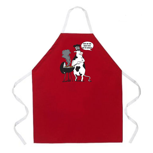 L.A. Imprints 2012 Cow BBQ Grilling Apron at Sears.com