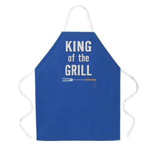 L.A. Imprints 2031 King of the Grill Grilling Apron