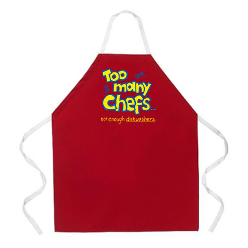 L.A. Imprints 2081 Too Many Chefs Apron at Sears.com