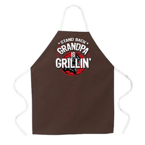 L.A. Imprints 2207 Grandpa is Grillin  Apron at Sears.com