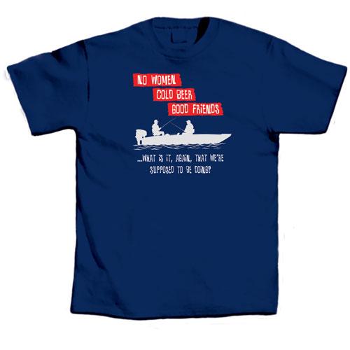 L.A. Imprints 1026XL No Women Cold Beer - Xlarge T-Shirt