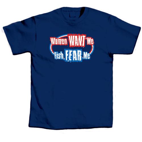 L.A. Imprints 1032L Women Want Me - Large T-Shirt