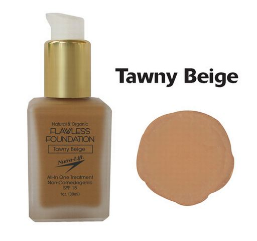 Nutra-Lift 676896000693 Tawny BeigeFlawless Foundation