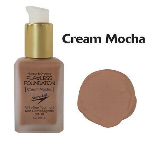 Nutra-Lift 676896000730 Cream MochaFlawless Foundation