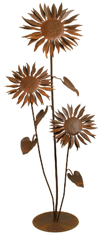 Patina Products S665 Large Sun Flower Garden Sculpture Garden Accents, Garden Decor, Garden Decoration, Accent, Garden Art, Garden Sculpture, Outdoor Decor
