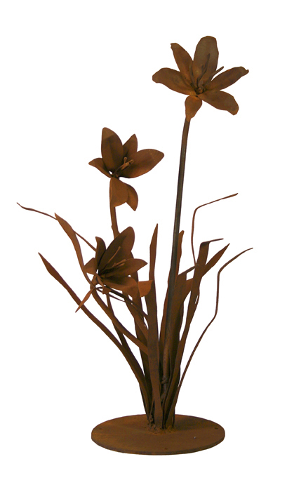 Patina Products S675 Small Lily Garden Sculpture - Caroline Garden Accents, Garden Decor, Garden Decoration, Accent, Garden Art, Garden Sculpture, Outdoor Decor