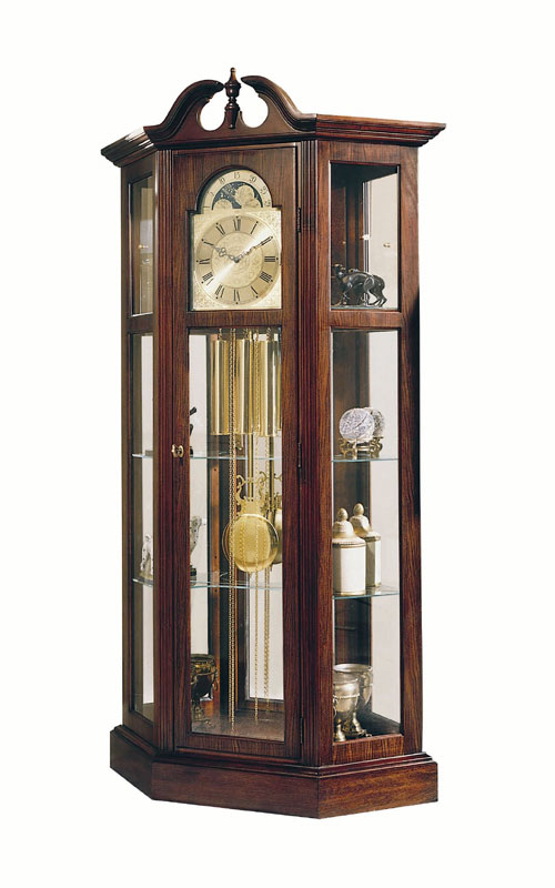 Ridgeway 9701 Richardson I Antique Cherry Clock