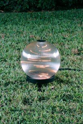 Starlight Lanterns LSPP Luna Small Lantern on Petite Stand with Prism Globe