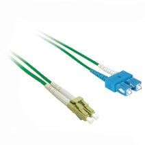 Cables To Go 37353 5m LC-SC DUPLEX 50-125 MULTIMODE FIBER PATCH CABLE - GREEN CTG104
