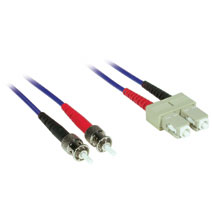 Cables To Go 37162 5m SC-ST DUPLEX 62.5-125 MULTIMODE FIBER PATCH CABLE - BLUE CTG350