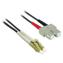Cables To Go 37223 3m LC-SC DUPLEX 62.5-125 MULTIMODE FIBER PATCH CABLE - BLACK CTG393