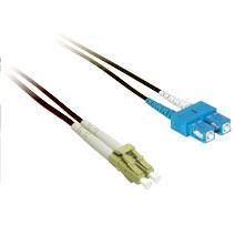 Cables To Go 33344 10m LC-SC DUPLEX 9-125 SINGLEMODE FIBER PATCH CABLE - BLACK CTG551