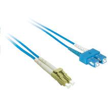 Cables To Go 33349 10m LC-SC DUPLEX 9-125 SINGLEMODE FIBER PATCH CABLE - BLUE CTG552
