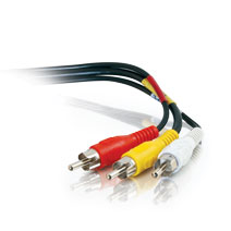 Cables To Go 40450 25Ft Value Series Rca Type Audio Video Cable
