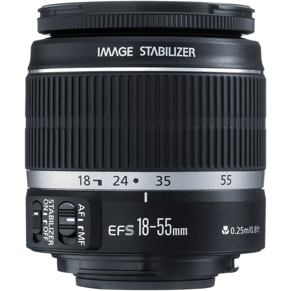 Canon 2042B002 EF-S 18-55mm f/3.5-5.6 IS Standard Zoom Lens