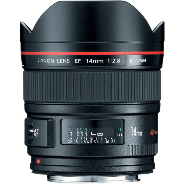 Canon 2045B002 EF 14mm f/2.8L II USM Ultra-Wide Angle Zoom Lens