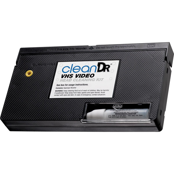 Digital Innovations 6012800 Clean Dr. VHS Video Head Cleaning Kit