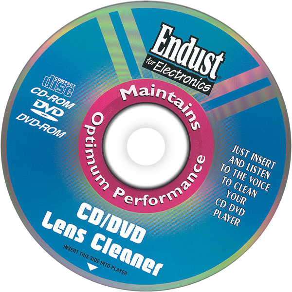Endust 262000 CD/DVD/Blu-ray/ Game System Lens Cleaner DBL27093