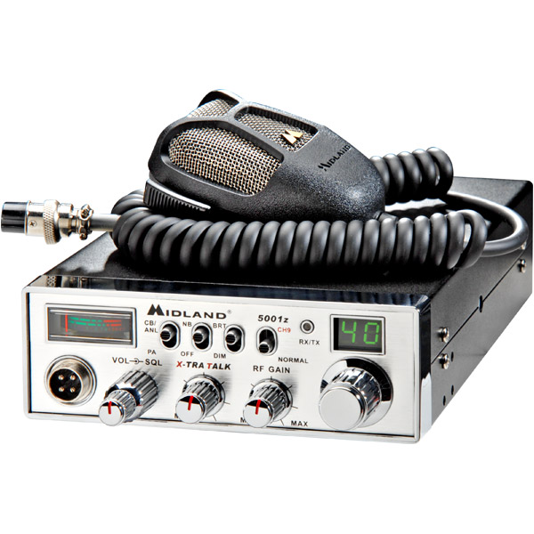 Midland 5001Z 40-Channel CB Radio with Digital Tuner